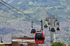 Metrocable in Medellin, Colombia