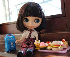blythe doll   I love the hair-cut <3