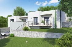 Faire construire une maison design Construction, New Homes, Mansions, Architecture, House Styles, Outdoor Decor, Loire, Home Decor, Houses