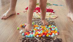 Připravte dětem isobě bosou dráhu – chodidla vám poděkují – Tchibo Sprinkles