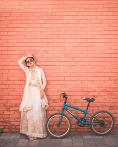 Cycle cycle oh maari ❤️😂 Cause this song is trending nowadays 🤷🏻‍♀️ 📸- Photo U, Indian Teen, Teen Actresses, The Most Beautiful Girl, First Girl, Indian Beauty, Girl Crushes, Lace Skirt, Tulle