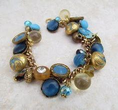 charm bracelet w/ buttons