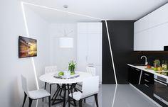 Кухня в современном стиле - Кухня в современном стиле   PINWIN - конкурсы для архитекторов, дизайнеров, декораторов