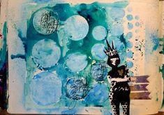 Dina Wakely http://dinastamps.typepad.com/ponderings/2011/08/super-quick-art-journal-pages.html