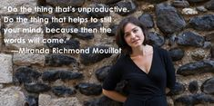 Miranda Richmond Mouillot shares the secret to getting started and finishing.  Real advice from great authors on getting off to a #WriteStart this New Year.