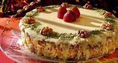 Сиропирана орехова торта без брашно
