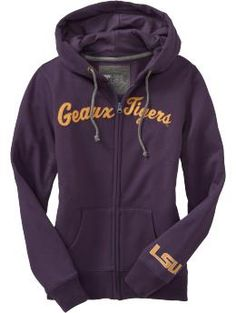 LSU hoodie at Old Navy
