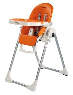 e6c7fc521a965 Peg-Perego Prima Pappa Zero3 High Chair Arancia (0-3yrs) Baby Direct