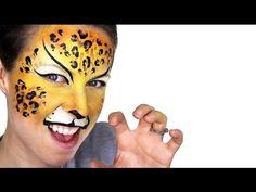 Leopard Face Paintin