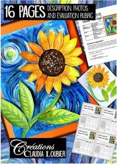 Spring: Art Lesson for Kids, In the Manner of Vincent Van