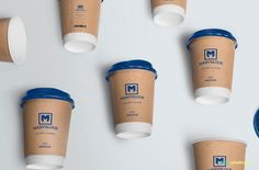Free Awesome Coffee Cup Mockup - CreativeBooster