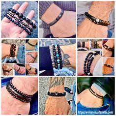 Make A Gift, Watch Sale, Stone Beads, Bracelet Set, Leather Wallet, Nba, Beaded Bracelets, Events, Mens Fashion