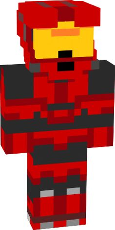 halo minecraft | red halo - NovaSkin gallery - Minecraft Skins Skins For Minecraft Pe, Halo, Video Game Characters, Diy And Crafts, Masons, Bedroom Ideas, Red, Aircraft, Holidays