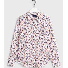 Gant Florale stretch Bluse (Weiß) Gant