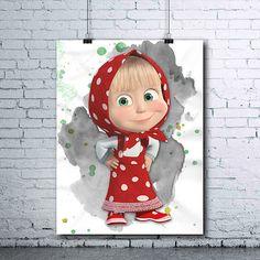 Masha and the Bear  Masha and Bear Birthday  Masha Poster