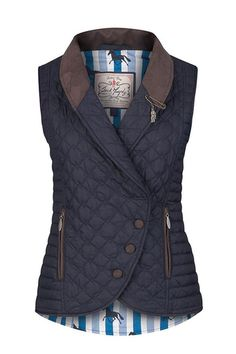 Jack Murphy Ladies Linda Gilet is perfect for you to wear throughout the spring and summer months. Make this gilet your new favourite wardrobe staple this season.