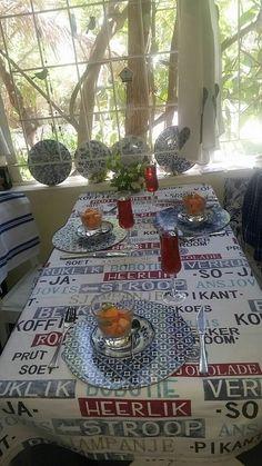 Afrikaanse tafel dek