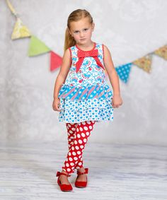 Love this Stars & Stripes Madi Tank & Leggings - Infant, Toddler & Girls on #zulily! #zulilyfinds
