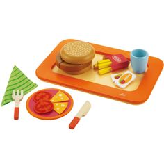 Toy Burger Set
