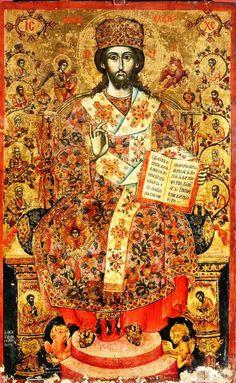 Konstantin+Koriçi,+Cristo+Sommo+Sacerdote+in+trono,+97x61+cm,+Tirana,+Museo+storico+Nazionale,+metà+XVIII+sec.jpg (649×1054)
