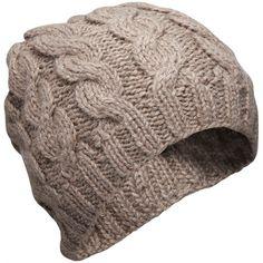 aymara cable knit cashlama beanie