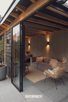 Patio Deck Designs, Patio Ideas, Budget Patio, Pergola Canopy, Lean To, Back Patio, Outdoor Living, Sweet Home, Home And Garden