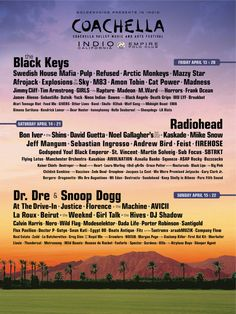 Music Festival happening over my B-day weekend this year