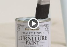 Chalky Finish Furniture Paint is so in fashion, and the shabby chic finish has got the whole world talking! Here's how to use it, to get the best results...