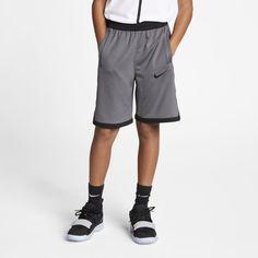 07109421ad1 Nike Dri-FIT Elite Big Kids' (Boys') Basketball Shorts Size S (Dark Grey)
