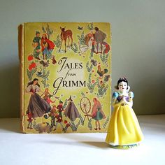 Tales from Grimm, Vintage Fairy Tale Book (via calloohcallay)