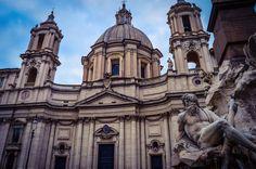 Iglesia de Santa Inés en Agonía, Piazza Navona (Roma - Italy)