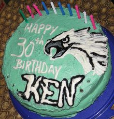 Thanks for sharing this awesome #Eagles cake Colleen W.!