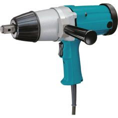 Makita 6906 9 Amp 3/4-Inch Impact Wrench. Powerful 9.0 AMP motor delivers 1,700 RPM for heavy duty applications. Precision gearing plus ball and needle bearing construction for smooth and efficient power transmission. Rocker switch for easy one-handed forward/reverse operation. Side handle adjusts 360° for operator convenience at any angle. Externally accessible brushes for greater serviceability. Double insulated. Side Handle (122464-9). Steel Tool Case. 6922NB. TW1000. TW0200. 6953....