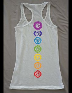 Hey, I found this really awesome Etsy listing at https://www.etsy.com/listing/189970107/chakra-yoga-tank