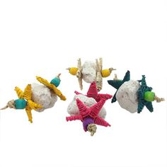 Chinchilla Toss Toys - this is a cute idea for pumice rocks.