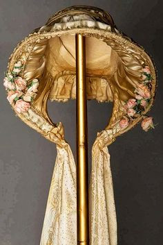 Ladies' Bonnet, 1850-1865, Augusta Auctions.