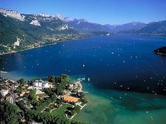 Lake annecy-view and what a beautiful view- I remember walking around this lake it was so beautiful and peaceful its one place I would live