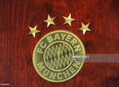 The Bayern Munich chronicle logo with four stars is seen on the cover of the new chronicle which was presented during a news conference in Munich, southern Germany, on November 10, 2010. The large Bayern Munich chronicle weighs 30 kilogrammes and will be available for 3000 euros in 2011 on the occasion of the 111th birthday of the German first division football Bundesliga club.