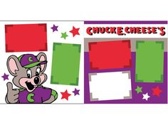 Chuck E Cheese by ScrapbookConcierge on Etsy