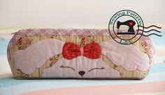 Applique Rabbit Pencil Case PDF Tutorial and Pattern by LYPatterns, $5.00