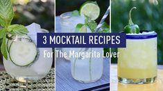 3 Healthy Mocktail Recipes For The Margarita Lover