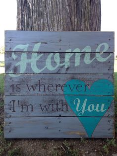 Hand Painted Repurposed Pallet by soulshineliving on Etsy, $60.00