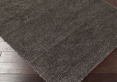 Amazon.com - Surya Aros AROS-33 Shag Hand Woven 100% New Zealand Felted Wool Wenge 4' x 10' Runner - Machine Made Rugs