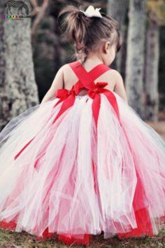 Christmas Flower Girl Dress www.Etsy.com