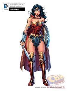Depuis l'annonce deRebirth, le prochain relaunch deDC Comicss'était accompagné d'une image représentant certains des personnages principaux de l'éditeur