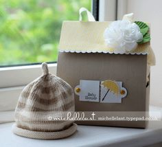 Baby Shower gift using Stampin Up Supplies by Michelle Last