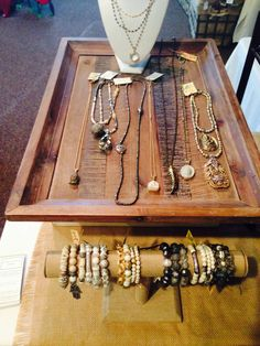 Bracelets and necklaces by Lisa Jill Jewelry