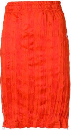 Adidas By Alexander Wang Logo Skirt Athletic Skirts, Mid Length, Alexander Wang, Tie Dye Skirt, Adidas Originals, Im Not Perfect, Sportswear, Midi Skirt, Women Wear