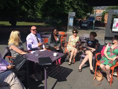 Networking in the sun @ Nottingham Playhouse