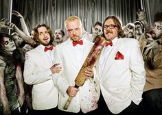 Edgar Wright, Simon Pegg, & Nick Frost, -  'Shaun Of The Dead Reunion'